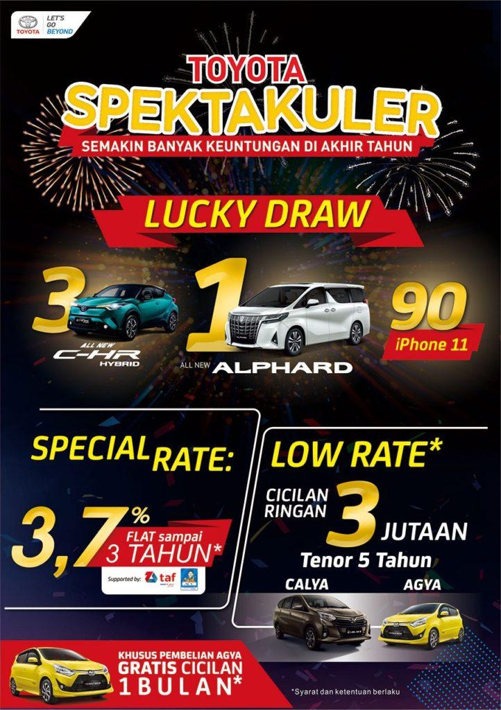 Promo Spektakuler Di Toyota Semarang